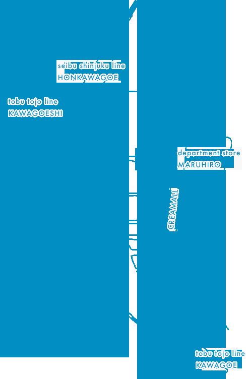 〒350-0043 埼玉県川越市新富町2丁目26−4 2F