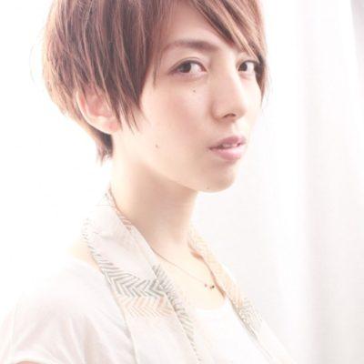 波瑠さん風小顔ショートヘア